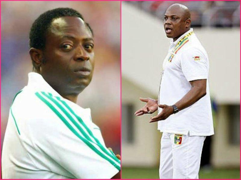 Shuaib Amodu, super eagles coach and Keshi
