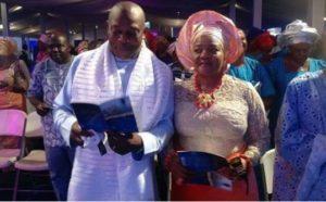 Stephen Keshi and wife