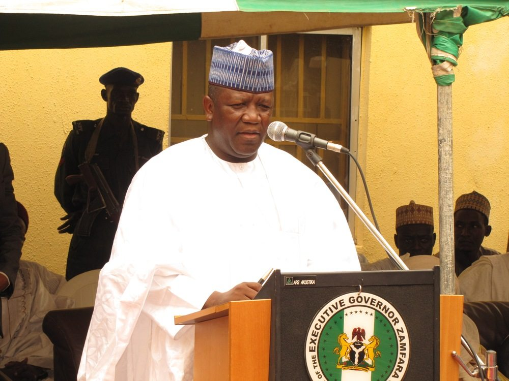 Gov. Yari signs N135.4bn budget into law