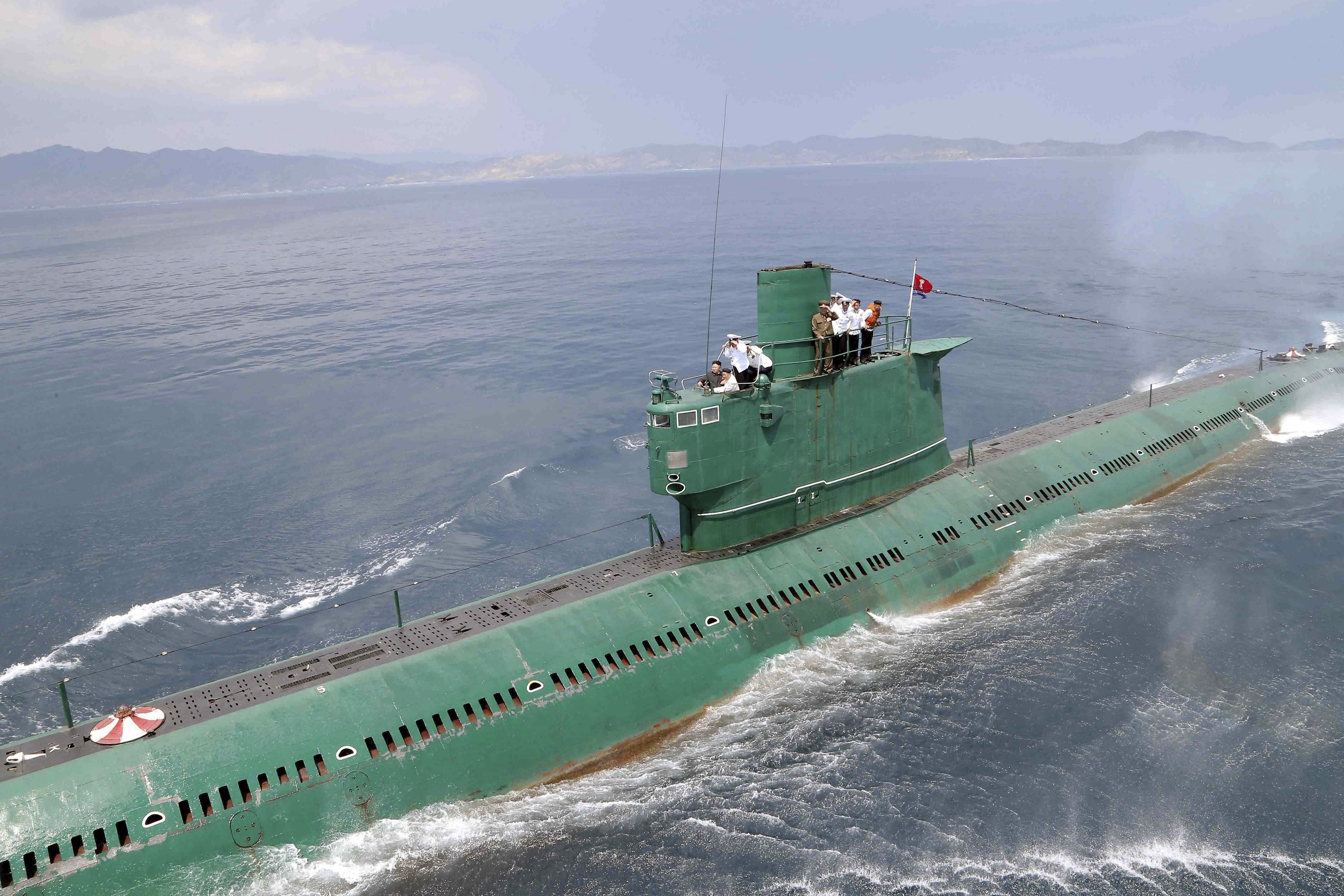 how north korea fires missile from submarine   south korea military