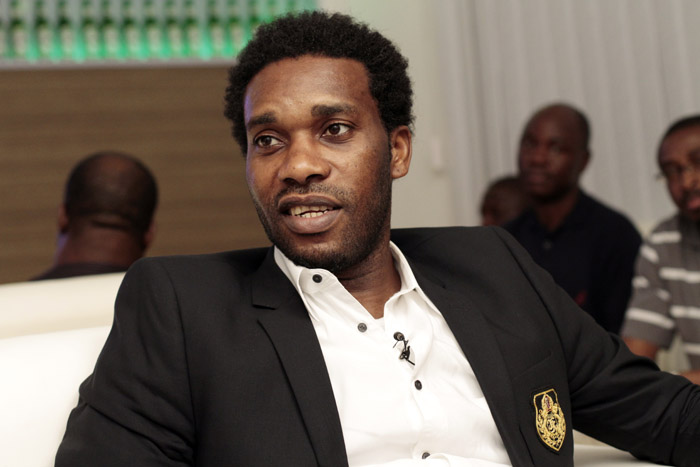 Jay Jay Okocha partners Bundesliga in favour of SWAN