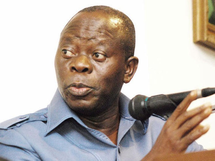 2019: Campaigns will be based on character, integrity of candidate – Oshiomhole