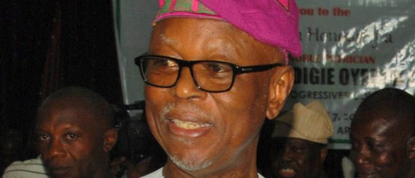 REVEAL: OYEGUN BOWS OUT, LEAVES APC IN DARKNESS