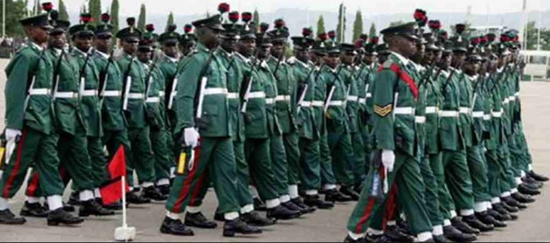 Celebrating The Nigerian Soldier  on 6th July 2018