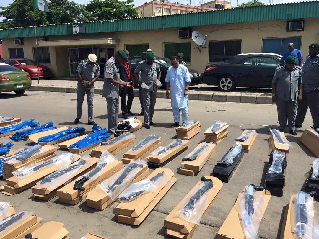 661 Rifles: I Paid SSS, Others N1m to smuggle container out of port -Accused