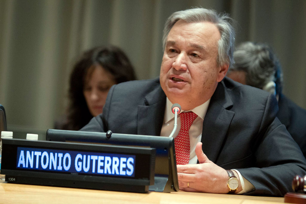 UN Chief rolls out plans to tackle global challenges