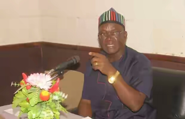 'Go Home And Defend Yourselves With Stones Against Herdsmen'- Governor Ortom Tells Residents