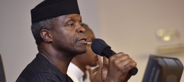Image result for Osinbajo tasks oil dependent African countries to diversify