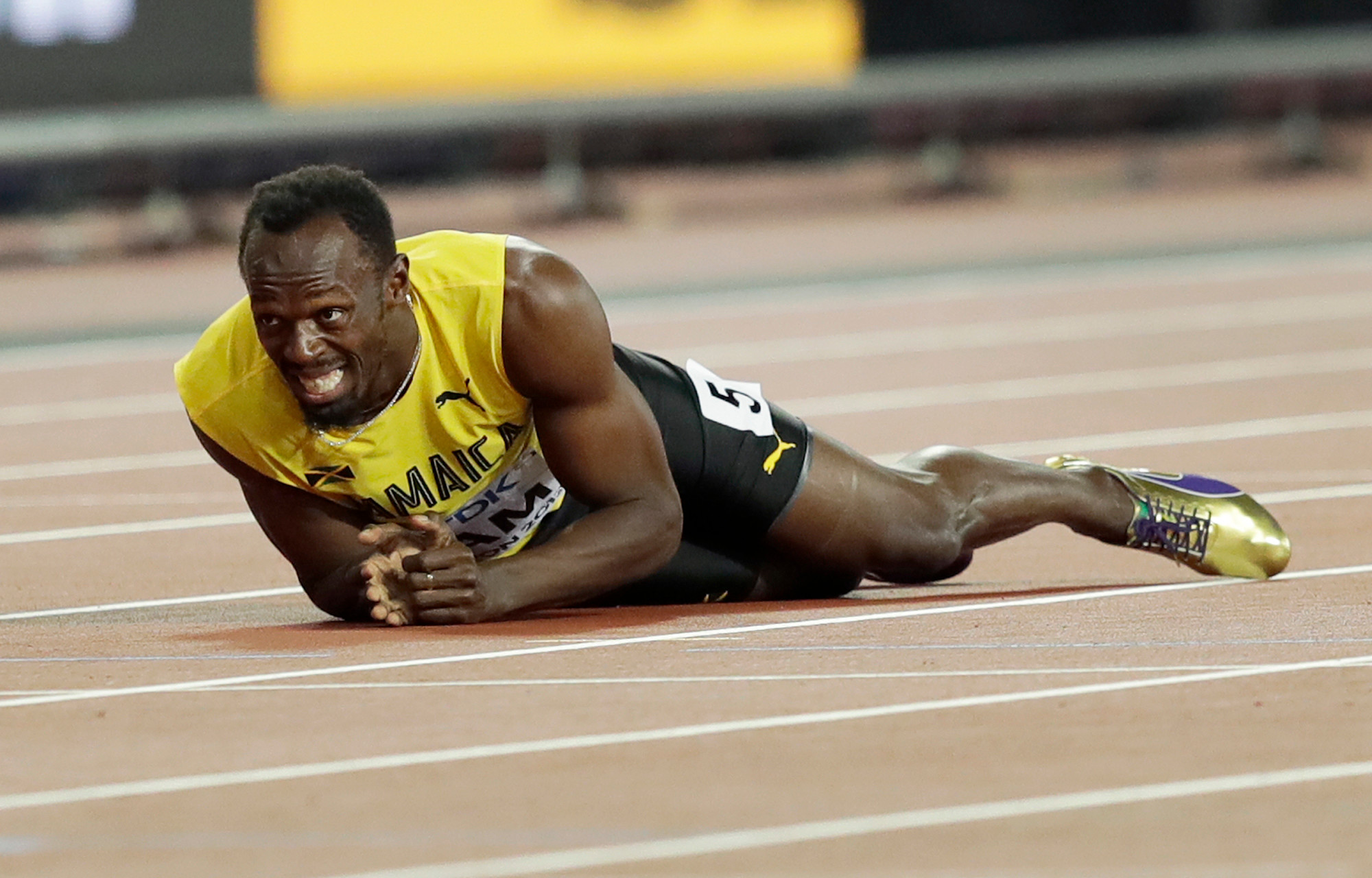 Usain Bolt baffled by drug test request