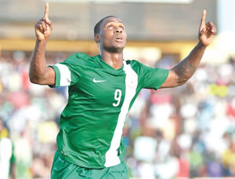 Odion Ighalo: No pressure playing for Nigeria