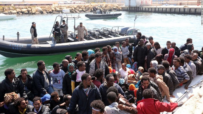 Many Nigerians among 630 migrants received in Valencia