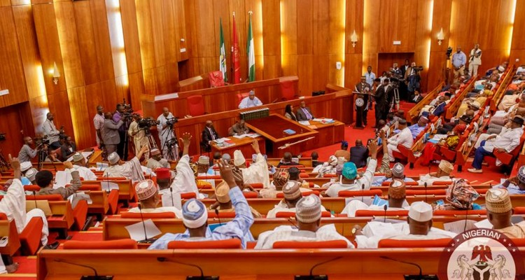Senate in rowdy session over alleged lopsidedness in Buhari's appointments