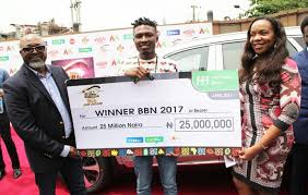 "Following in Bisola's footstep, big brother Naija 2017 winner, Efe Ejeba has taken to Instagram to appreciate the sponsors of the reality show for giving him the platform that led to his success. He also apologized to everyone he has offended. He wrote; ""Thank you Multichoice Nigeria, @dstvnigeria , @GOTvng, @Payporte, and @BigBroNaija for giving me the rare opportunity of showcasing my talent and achieving my dreams. Thank you Nigeria and to my fans in Africa and the whole world... i am truly grateful for your enormous support. You've gotten me to where i am today. God bless you all. April 9th would forever be a special day in my life. I also want to use this opportunity to say... i'm sorry to those i may have offended knowingly and unknowinly in one way or the other. God bless you too. Always put me in your prayers. God bless."""