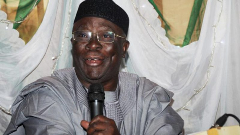 Adebanjo tackles AGF over legality of Amotekun