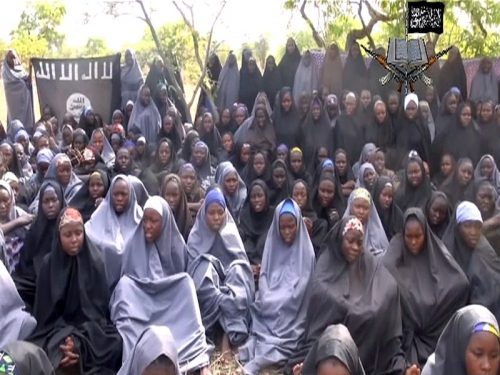 """We won't return,"" says one of Chibok girls in Boko Haram new video reportedly released"