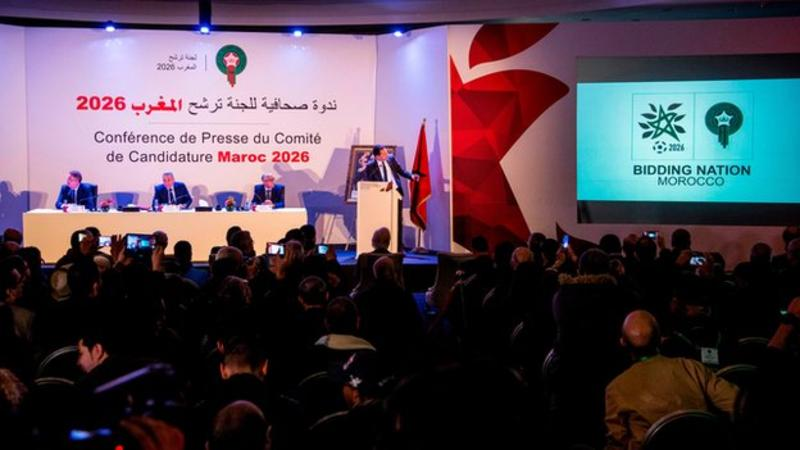 Morocco launches 2026 World Cup campaign and logo