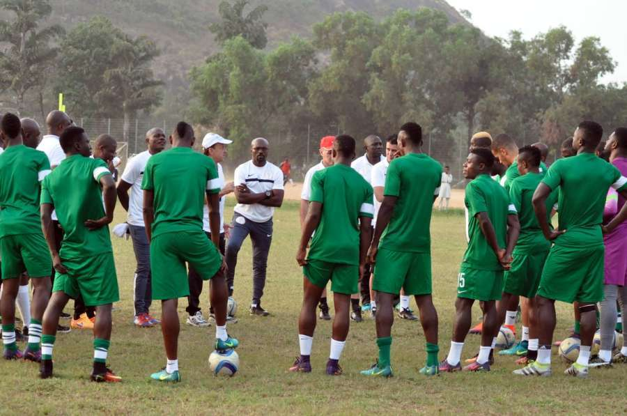 Eagles Mentally & Physically Ready For Tomorrow's Match, Says Rohr