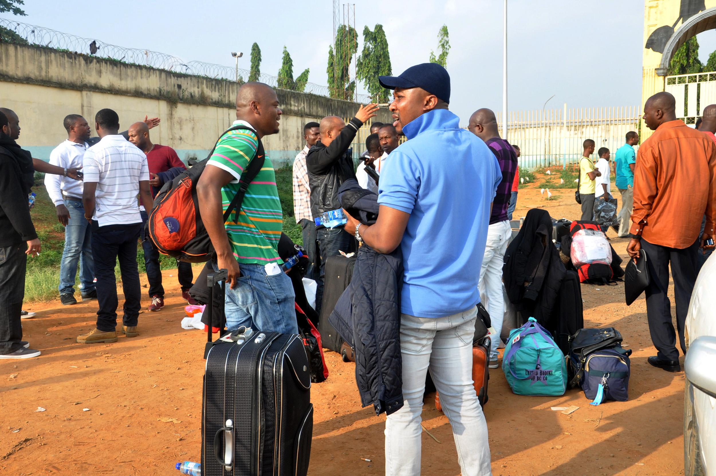 repatriated
