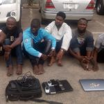 How police arrested six man cyber criminals who transfer funds from stolen sim cards