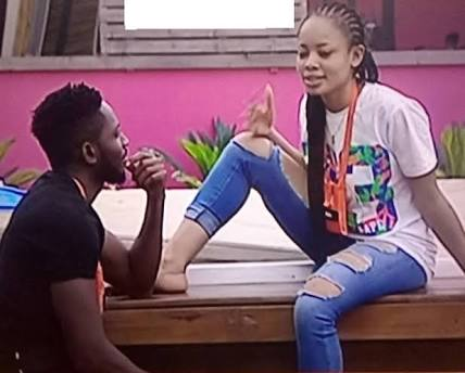 #BBNaija: Miracle Reveals His Real Plans For Nina After The Show