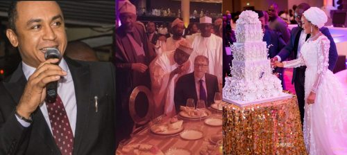 Daddy Freeze reacts to Dangote daughter's wedding