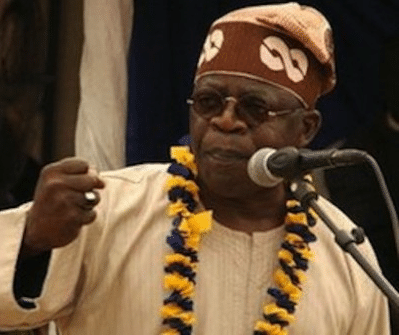 PDP Will Never Return To Power - Tinubu Boasts