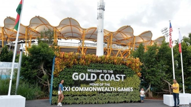 Commonwealth Games: England listed as part of Africa