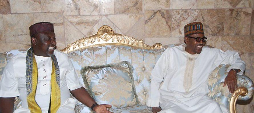 I 'll succeed Buhari, says Okorocha