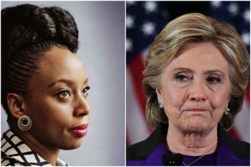 Chimamanda Adichie tackles Hillary Clinton for adding 'wife' to her Twitter bio