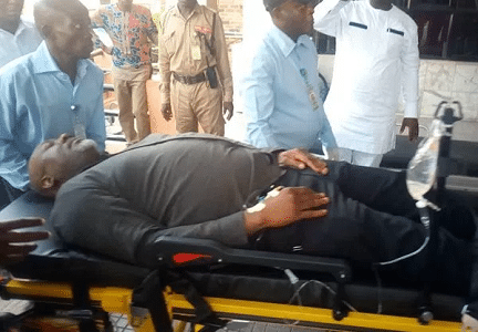 Police moves Senator Melaye to DSS Medical clinic