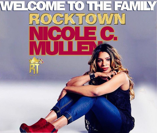 Nicole Mullen signs to Frank Edward's Rock Town Records
