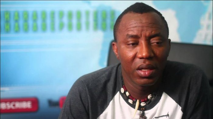 'I Can Run Nigeria Better Than Buhari Even In My Sleep' – Sowore
