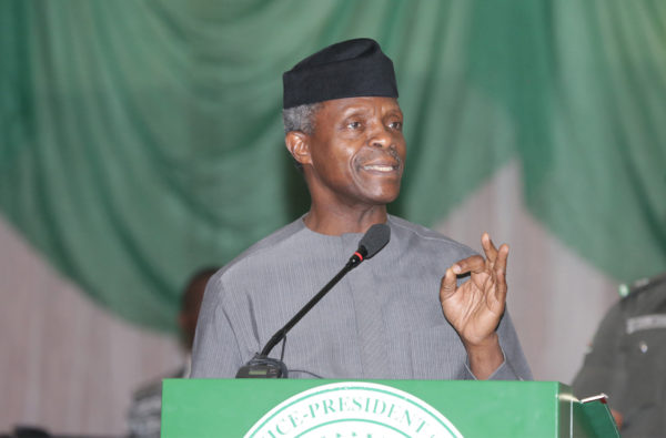No man born or unborn can stop Christianity in Nigeria- Osinbajo