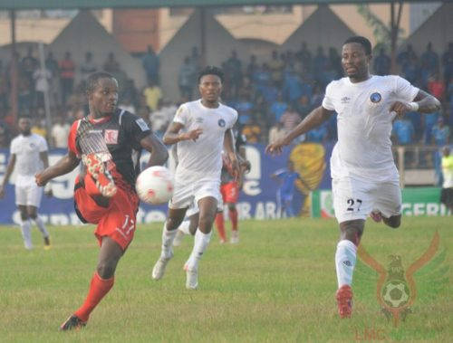 Abia Warriors vs kastina United: Police stops angry fans from beating officials