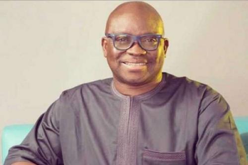 Bisi Akinola, Gov Fayose ally opens multi-million naira office