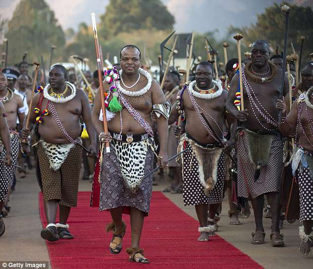 King Of Swaziland Renames Country Eswatini To Stop Being Confused With Switzerland
