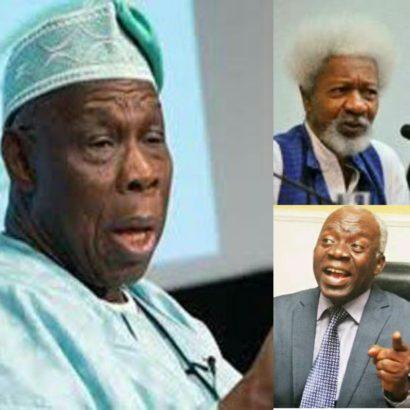 Beware of Obasanjo – Soyinka and Falana tells Nigerians