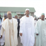 Saraki leads other senators to visit Melaye  in hospital