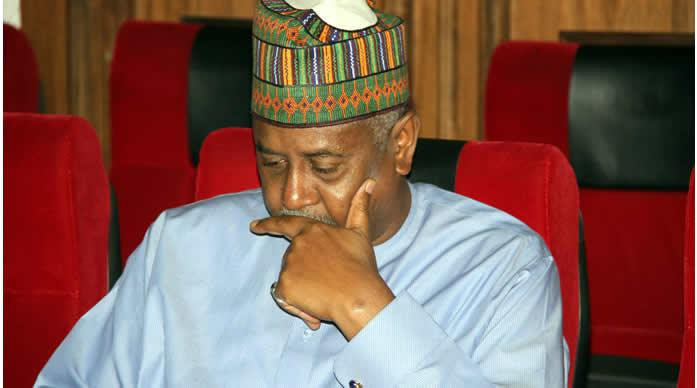 FG reveals alleged stolen prohibited arms, posh cars recovered from Dasuki