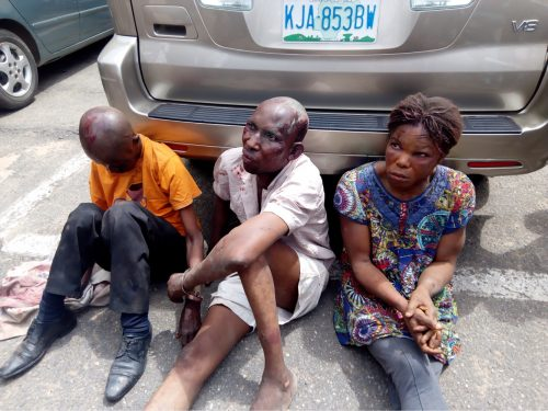 Three suspected kidnapper, ritualist arrested in Lagos.