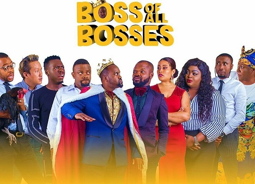Okon Lagos, Patience Ozokwor, others star in new comedy movie 'Boss of All Bosses'