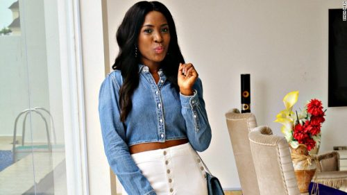 Linda Ikeji Sends Out Public And Official Warning About Her Baby