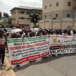 Protesters shutdown Amnesty International's office in Abuja over plot to destabilize Nigeria