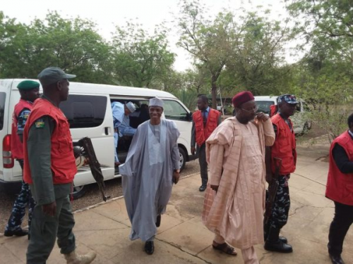 Shagari, 4 others docked for money laundering