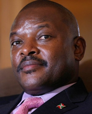 Burundi president surprises with vow to step down in 2020