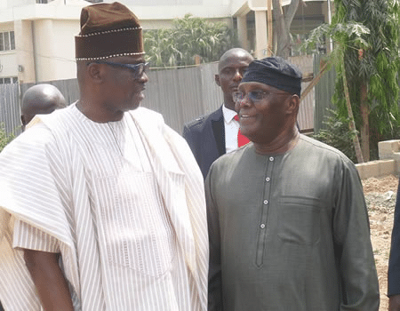 Atiku visits Fayose, canvasses support for PDP candidate