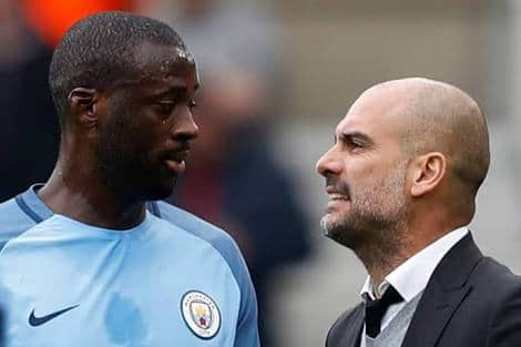 Yaya Touré Accuses Pep Guardiola Of Having Problems With African Players