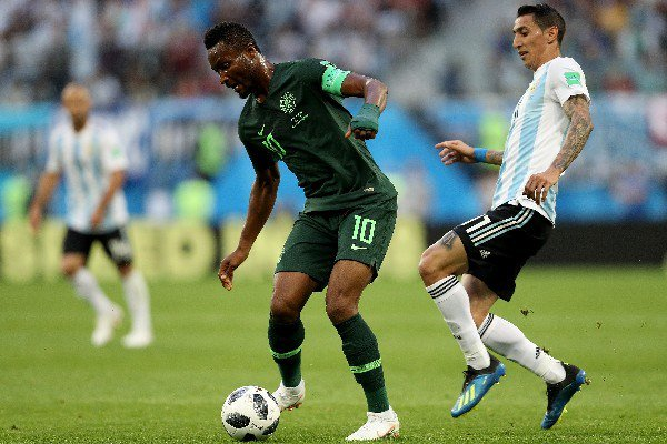We were robbed of 2nd penalty -Mikel Obi