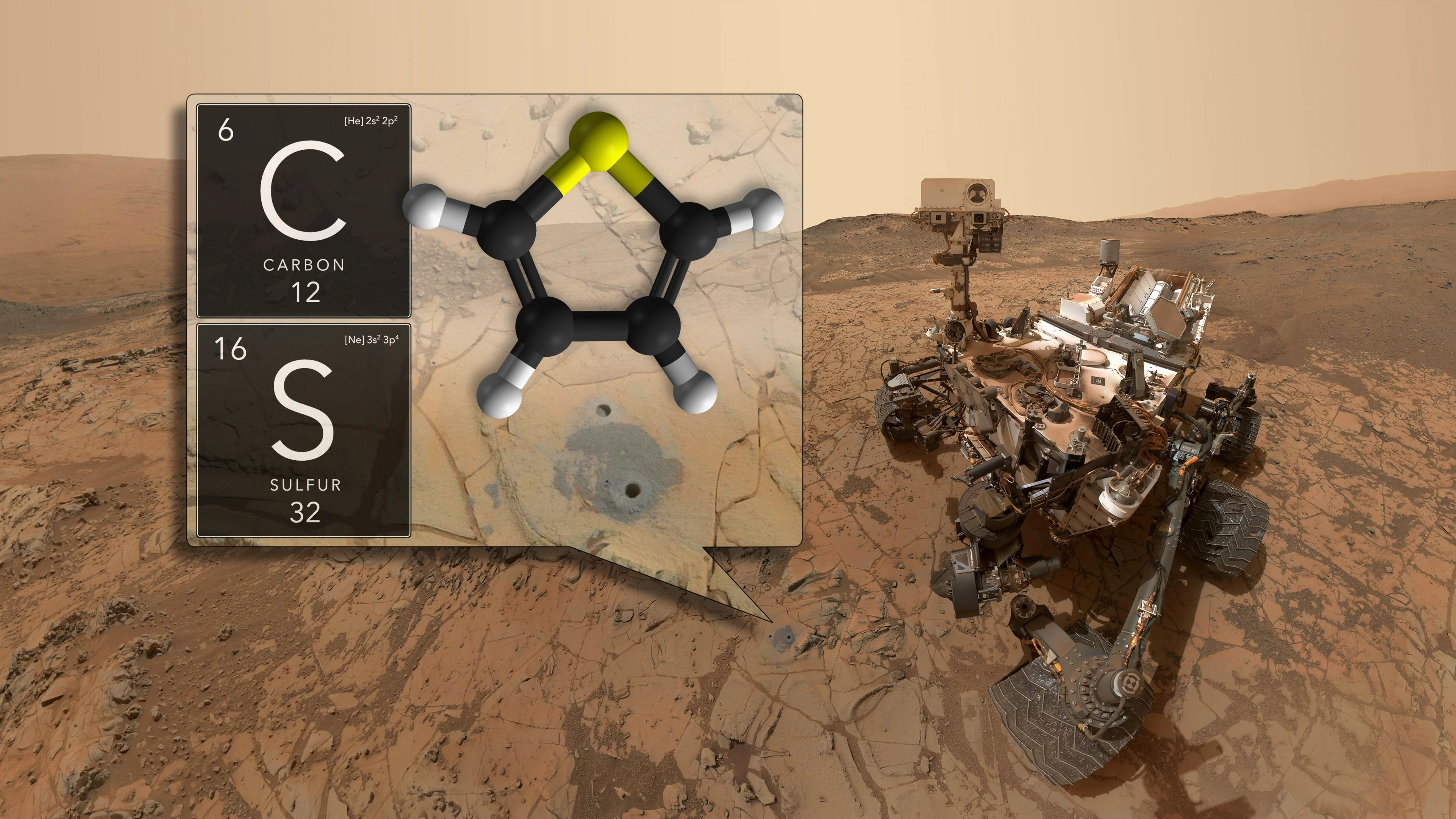 NASA's Curiosity rover finds organic molecules on Mars