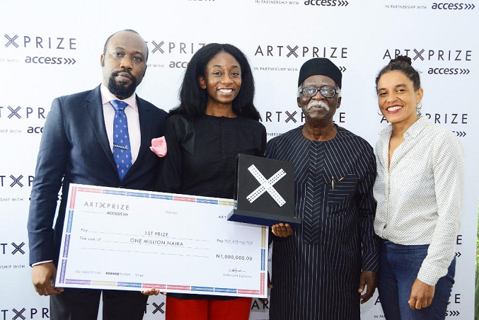 Bolatito Aderemi emerges Art X 2018 Prize winner, gets N1million
